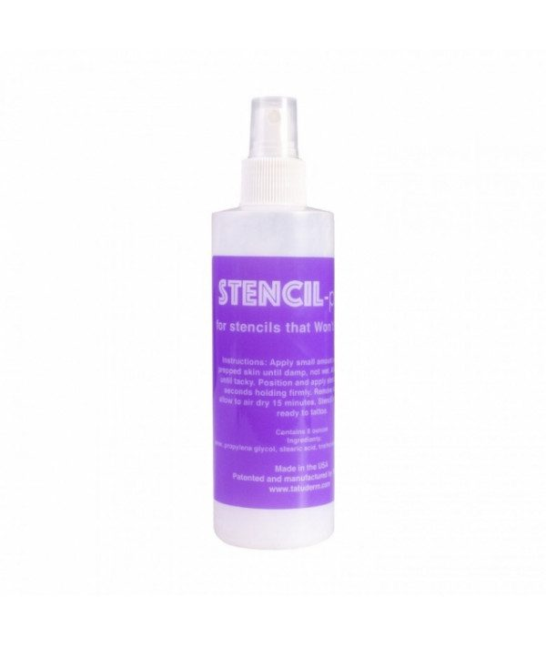 inkjet stencils inkjet prep spray prodaktattoosupply 240ml
