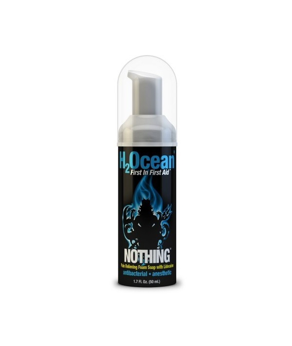 h2ocean soap foam nothing anestezie 50ml prodaktattoosupply