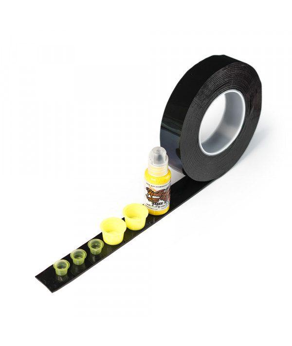 magic tape oboustranna paska na pohary black prodak 5m