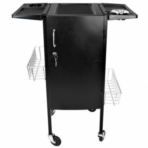 working table with drawers cubic prodak black