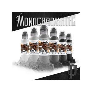 world famous ink poch s monochromatic set prodak 6x30ml