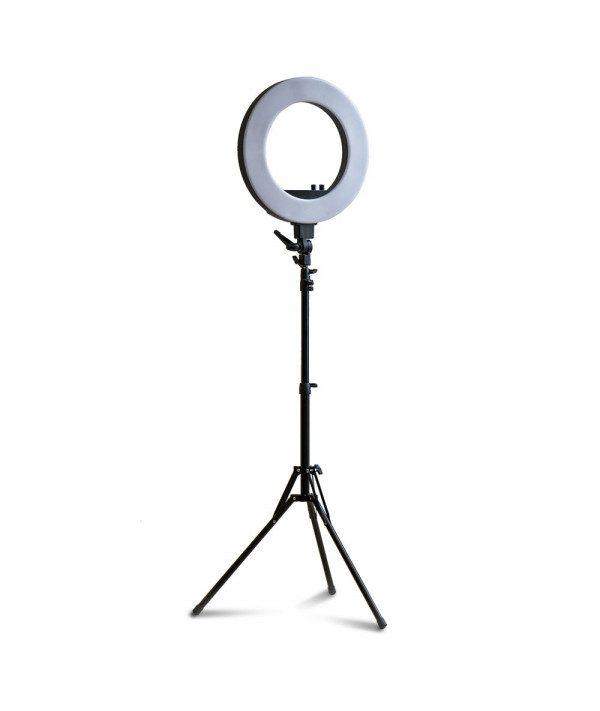 led lampa ring200 prum 46cm stativ s nastavitelnou teplotou a vykonem