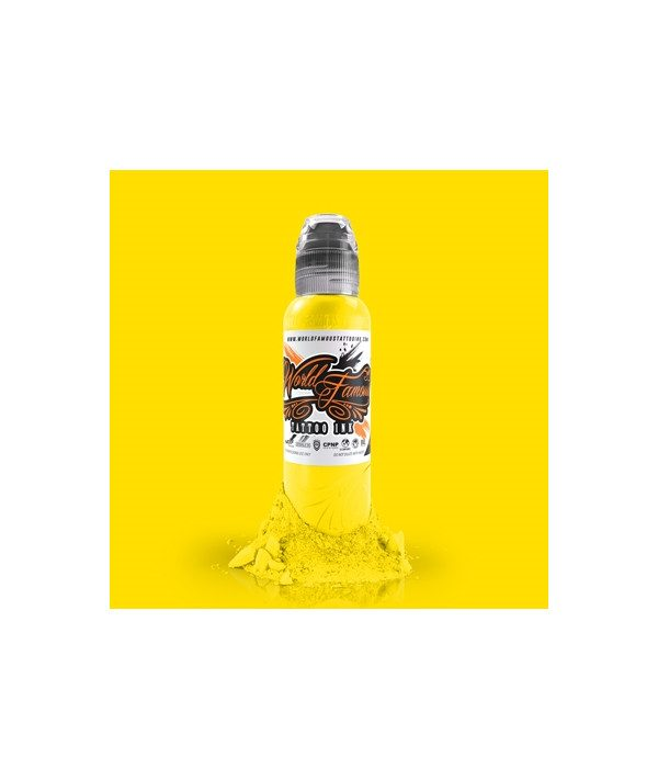 world famous ink canary yellow 15ml