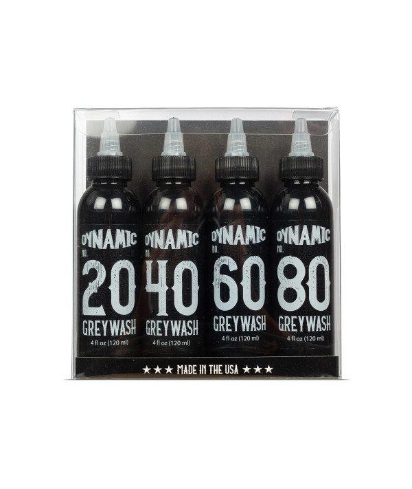 dynamic ink greywash set 4x120ml prodak