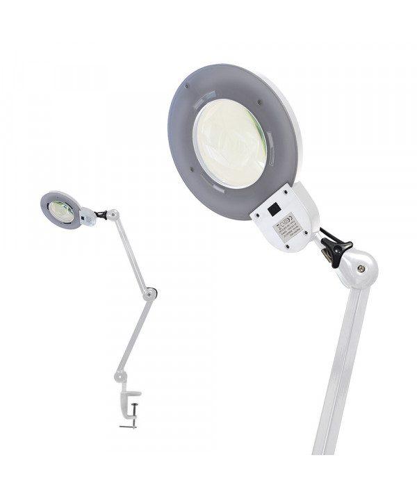 lampa led lupa prodak biela
