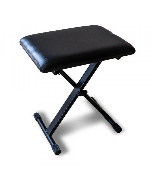 skladaci operka na nohy portable black prodak